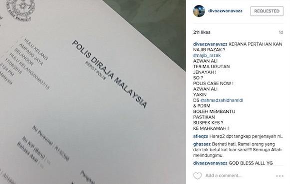 Azwan Ali Lapor Polis Kena Ugut Akibat Sokong Najib