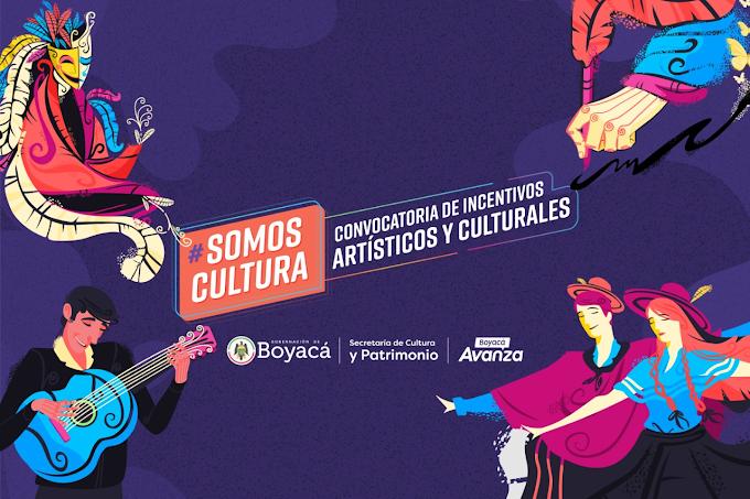"""Gobierno de Boyacá abre convocatoria departamental """"Somos cultura"""""""