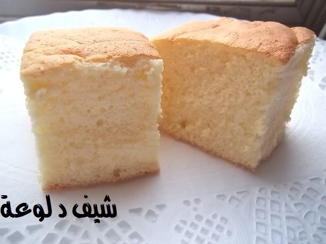 30 الكيكه الاسفنجيه للشيف دلوعه