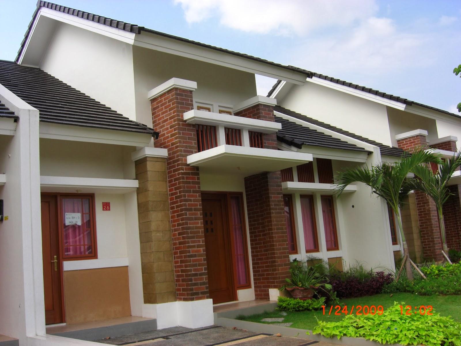 desain rumah contoh rumah minimalis 4