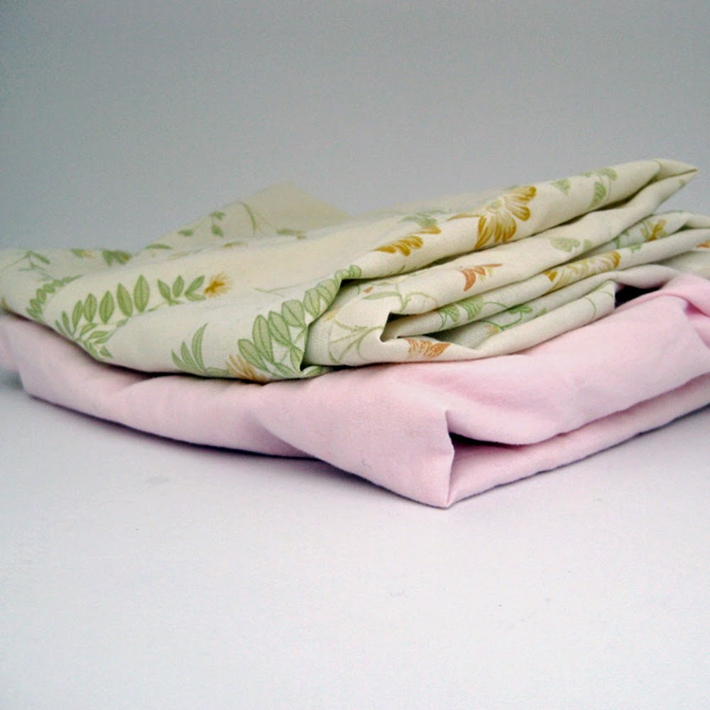 Pillowcases to recycle to a little girls nightdress