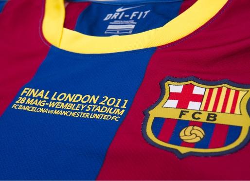 camiseta FC Barcelona Final de la Champions 2011