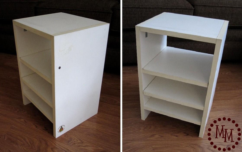 Mod Podged Shelves The Scrap Shoppe