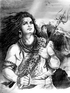 Rudrashtakam Mantra Picture of Lord Rudra or Shiva