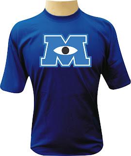 Camiseta Universidade Monstros