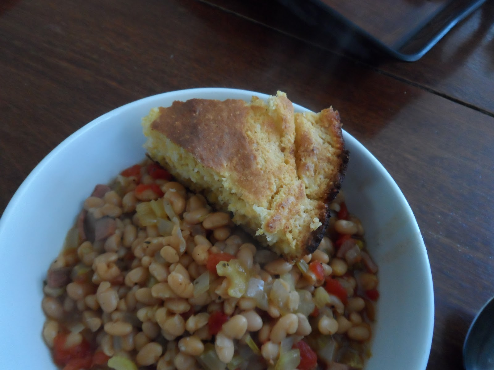 Beans and Cornbread | An American Housewife