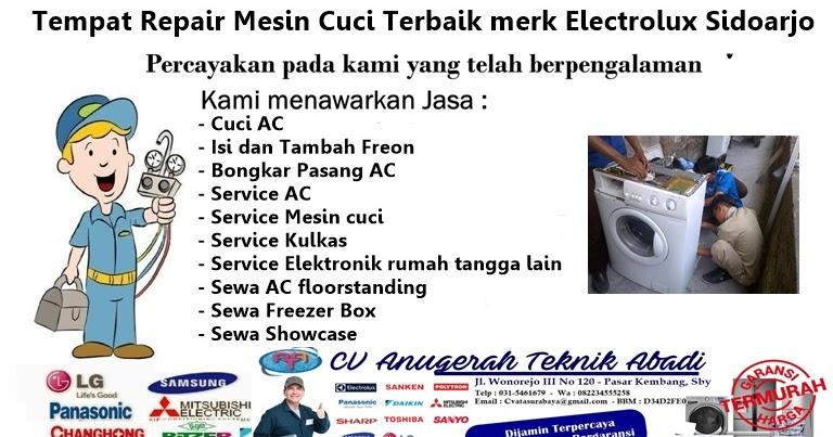 Service Mesin Cuci Electrolux Tempat Repair Mesin Cuci Terbaik Merk Electrolux Sidoarjo