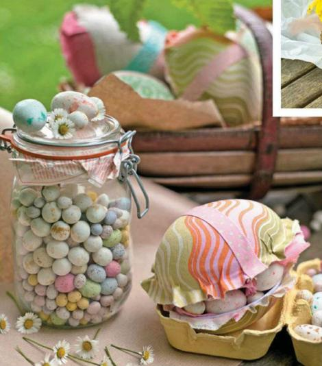 Easter crafts and gifts ideas: Personalise a gift box