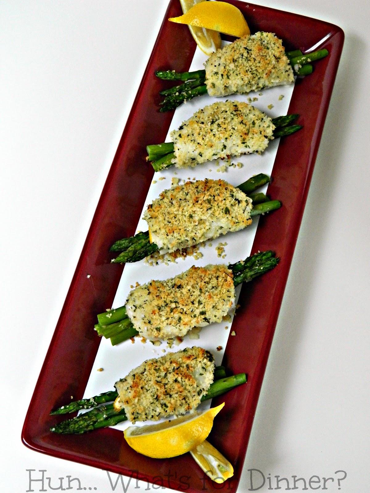 Crispy Asparagus Sole #HighLinerSimplyFish