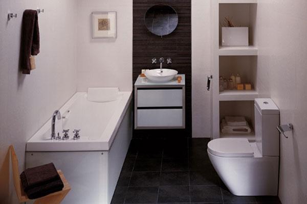 55 ideias para banheiros pequenos assuntos criativos for Best small bathroom designs 2013