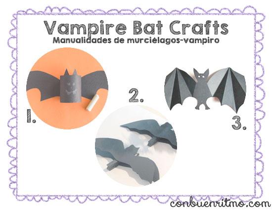 Manualidades de murciélagos-vampiro