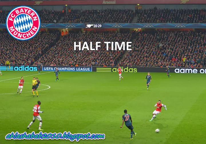 Bayern Munech vs Arsenal 2:0 Goals Highlights ||19/2/2014||