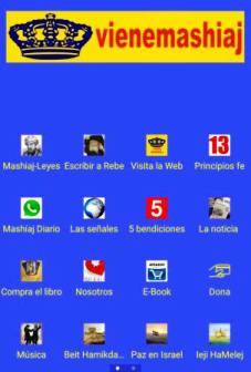 Viene Mashíaj App en Android