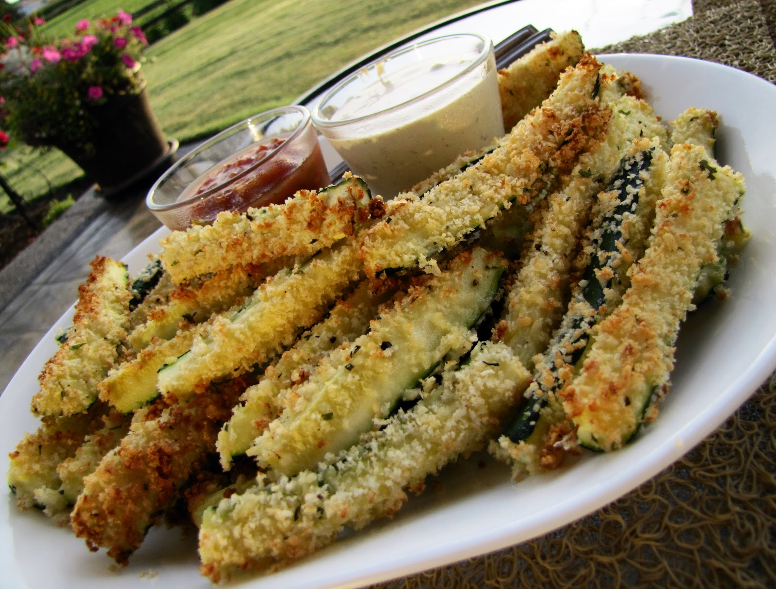 Mennonite Girls Can Cook: Baked Zucchini Sticks