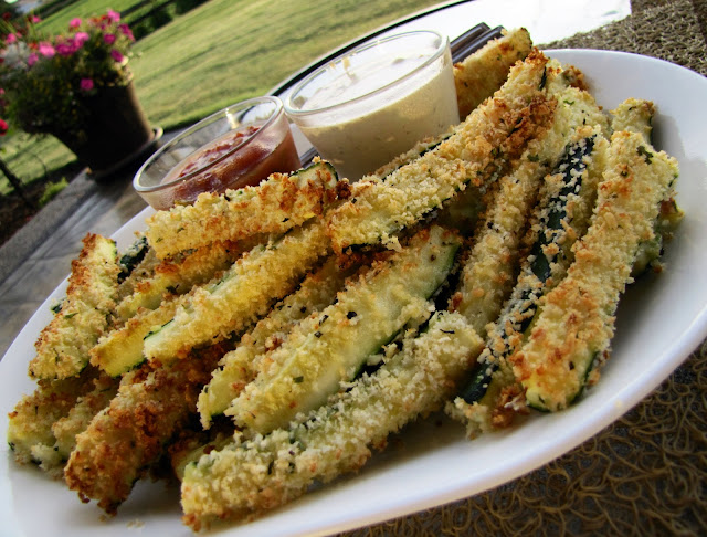 From My Table To Yours: Baked Zucchini Sticks