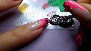 Manikir-obuka-tutorijal-4-(pink-french-manikir-sa-arabeskama)-010