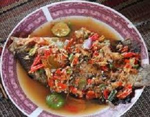 Resep Pecak Ikan Mas Betawi