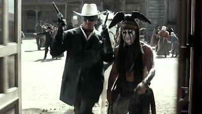 Primeras fotos de Johnny Depp como el indio Tonto en El