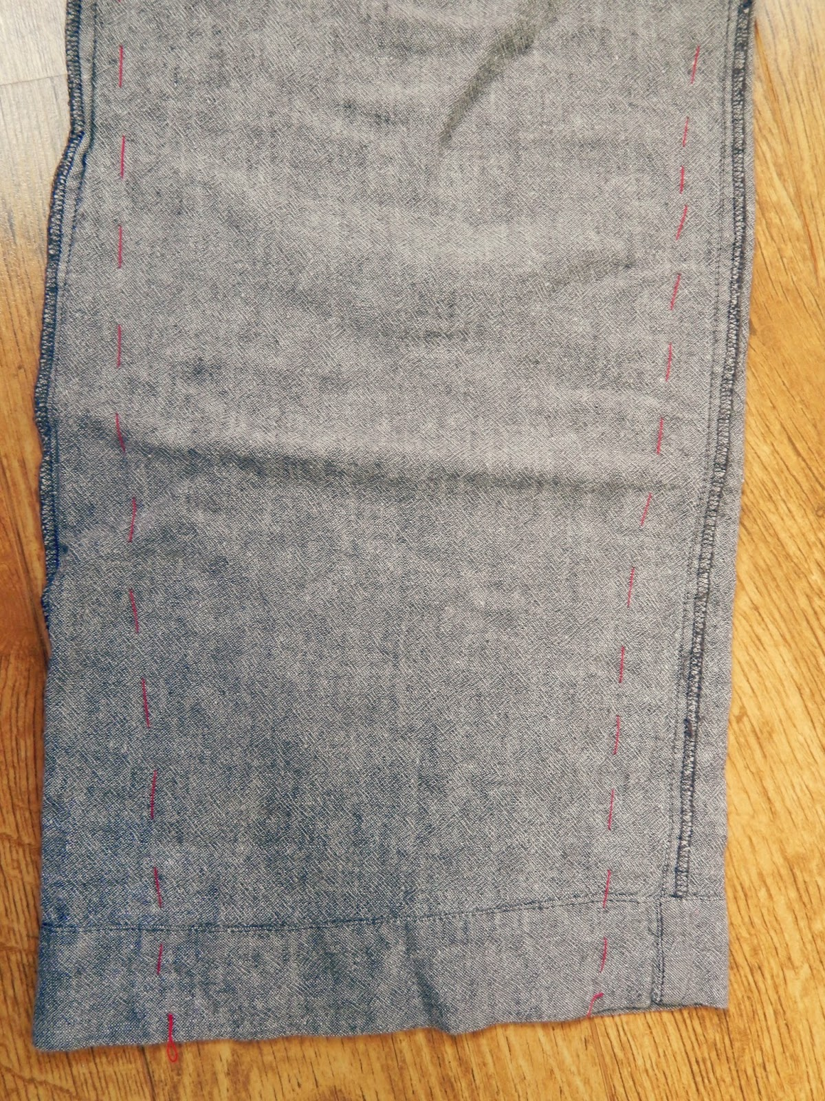 DIY Tapered Trousers