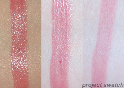184 Rose On and On shine caresse swatch