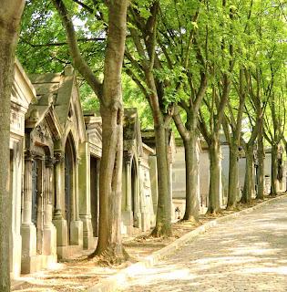Le cimetière parisien du Père Lachaise