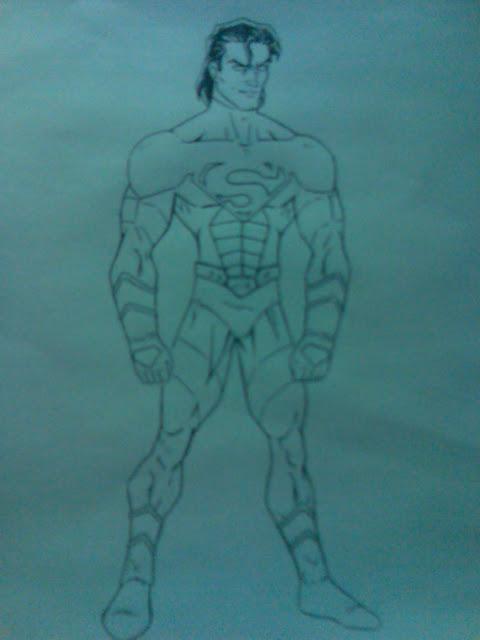 ultimo dibujos:spiderman y superman x(paso a paso)