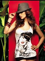 Jessica Cediel con sombrero