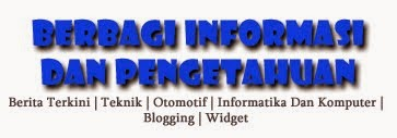 Berbagi Informasi  Dan Pengetahuan