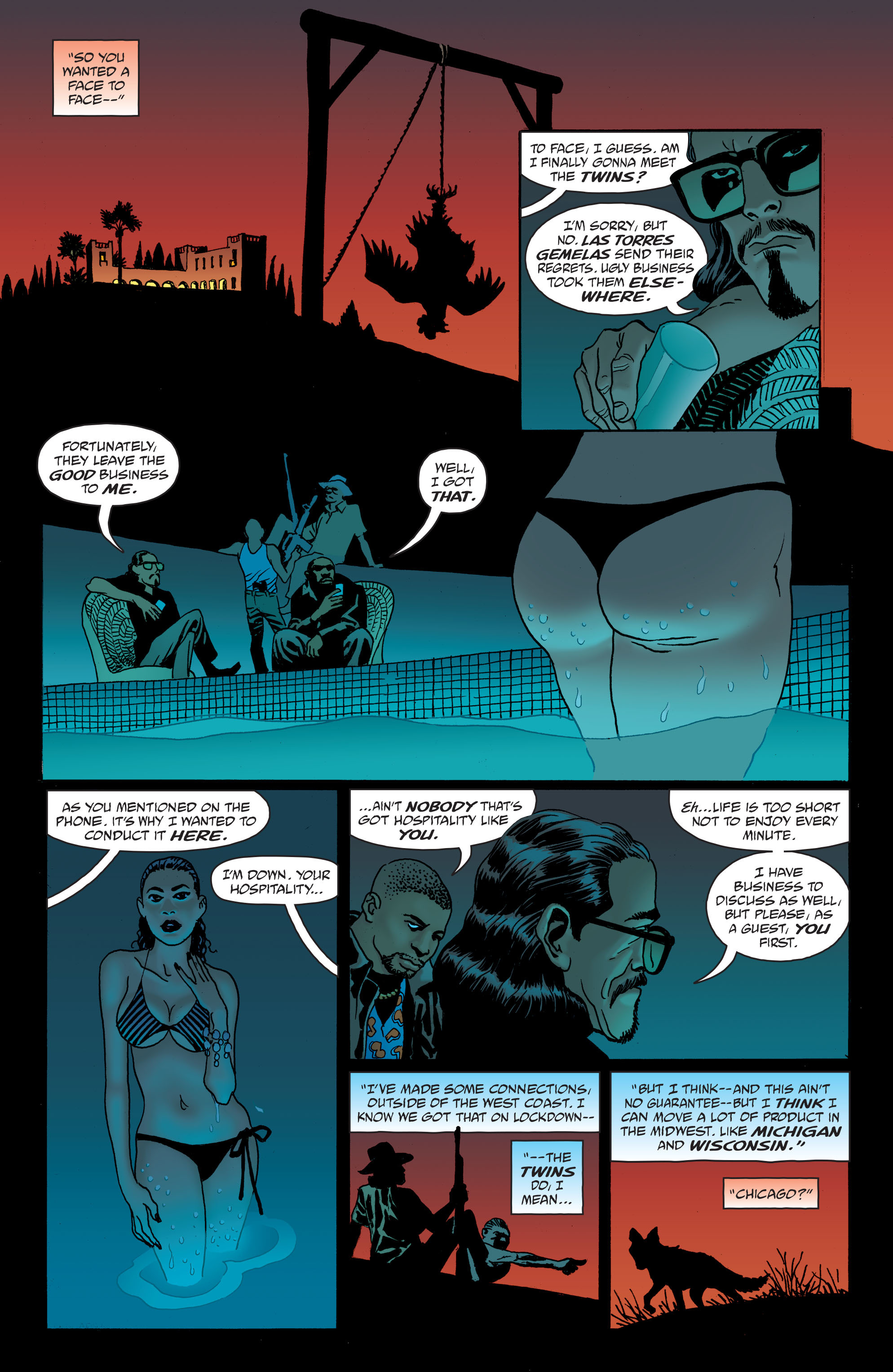 100 Bullets: Brother Lono Full Page 41