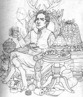 Gelatin God: Pagan and Regency and delish!