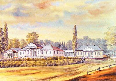 Усадебно-парковый комплекс Завишей (Кухтичи) на рисунке Наполеона Орды