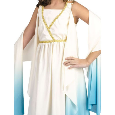 big girls greek goddess costume medium halloween costumes kids