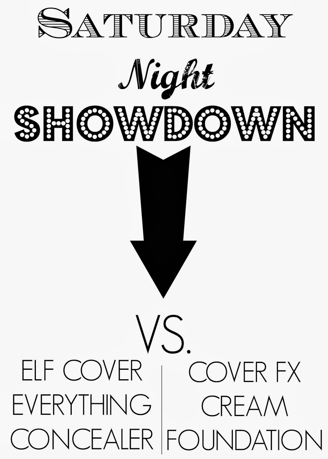 Elf cover everything concealer VS Cover FX Foundation
