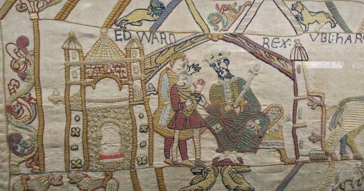 Crimson kettle the bayeux tapestry in reading - Point p bayeux ...