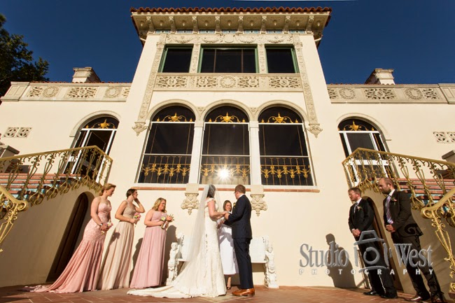 Hearst Castle - central coast wedding photographer - San Simeon Wedding - studio 101 west