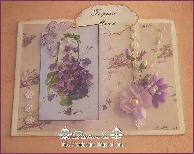 Diseños Isa: Tarjetas día de la madre para imprimir.
