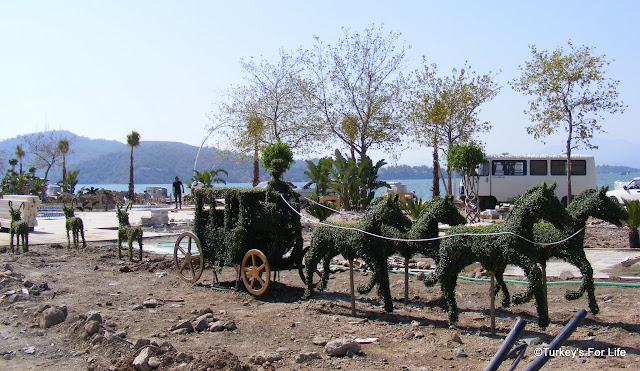 Topiary, New Town Square, Fethiye, Turkey
