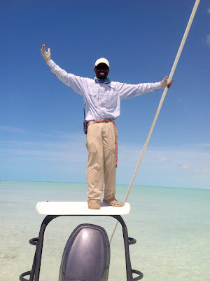 Guide Marvin, Middle Bight, Andros Bahamas