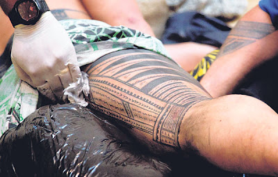 Pameran cacah tatu tradisional