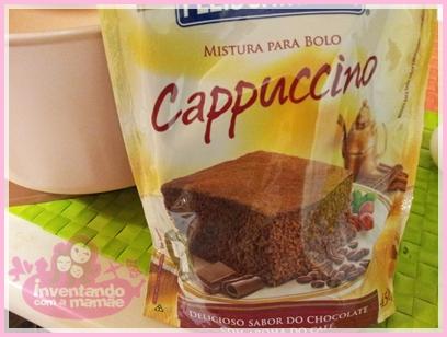 cupcake de cappuccino