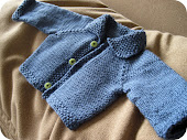 Blue Baby Sweater