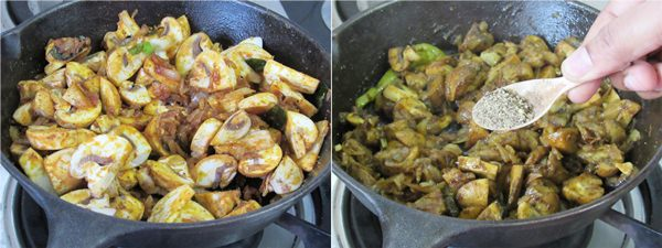 mushroom roast recipe