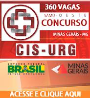 Apostila Cis-Urg Centro Oeste-MG - Técnico em Enfermagem - SAMU