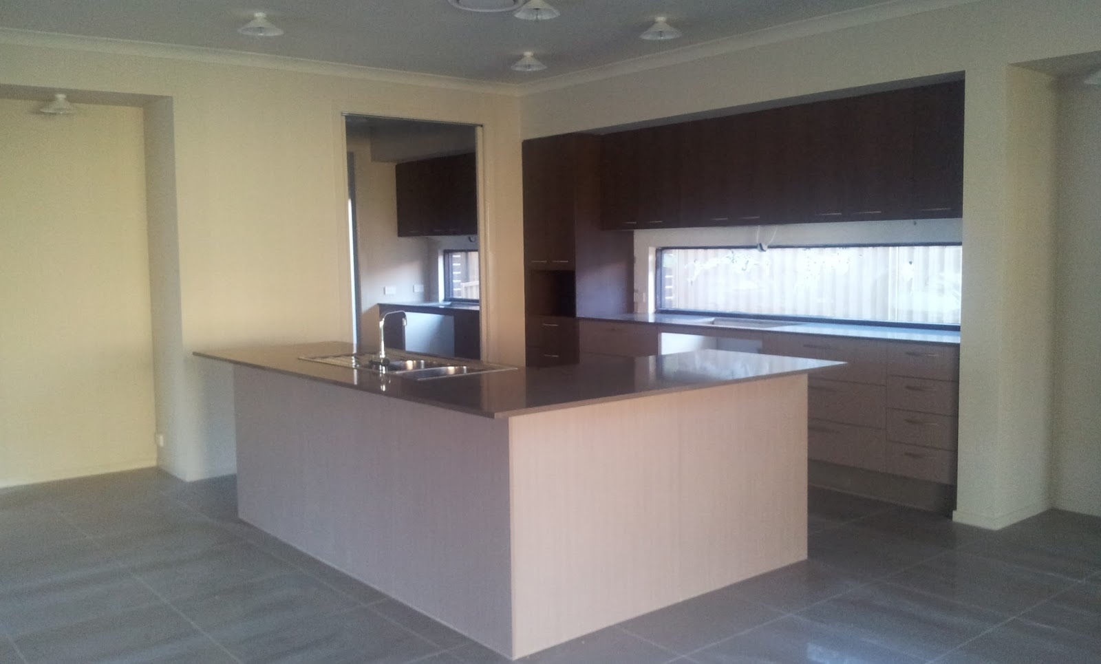 Our metricon nolan 41 journey kitchen and vanity cabinetry - From Dining