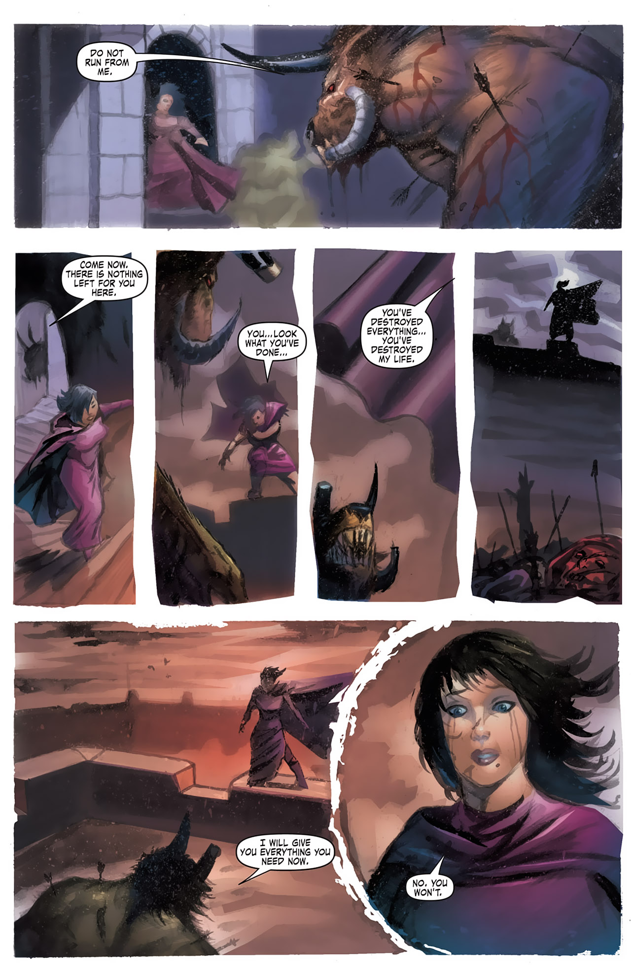 Grimm Fairy Tales (2005) Issue #14 #17 - English 16