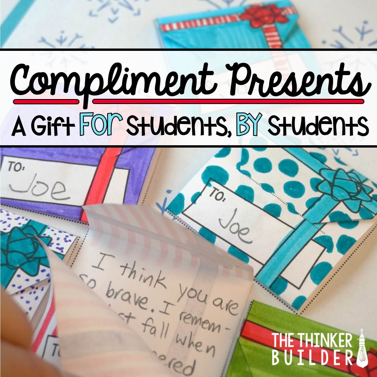 compliment presents  a holiday gift for students  from