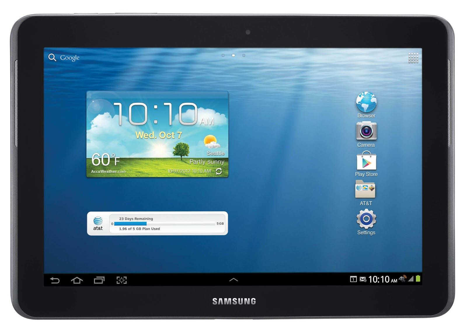 Samsung Galaxy Tab 2 7.0 P3100, Tablet ICS Dengan Dual-Core 1GHz