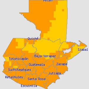 Resultado de imagen de mapa solar en guatemala