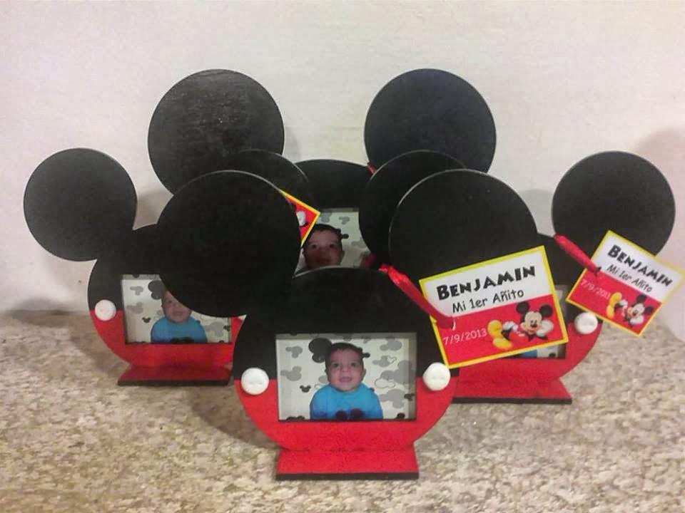 Deco, arte y juegos: SOUVENIR MICKEY MOUSE / PORTARETRATO MICKEY MOUSE