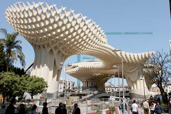 Unique collections metropol parasol for Arquitectura sevilla